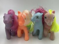 My Little Pony G1 Lot Vintage MLP Shady Party Time Sherbet Princess Sapphire