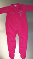 TBE ABSORBA demi-saison beau pyjama dors bien rose fuchsia , taille 18 mois
