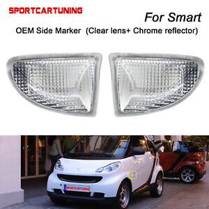 For Smart Fortwo 451 MK1 & MKII 2007-2015 OE Side Marker Light Turn Signal Lamp