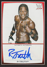 2015 Topps WWE Road to Wrestlemania Autographs #RT R-Truth