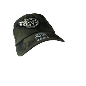 NFL Tennessee Titans '47 Clean Up Camo Mesh Adjustable Hat OSFA New