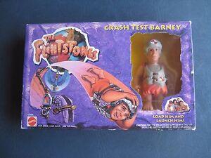 The Flintstones--Crash Test Barney--1993 Mattel