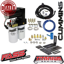 FASS 165GPH Diesel Fuel Lift Pump System For 2005-2018 Ram 2500 3500 Cummins