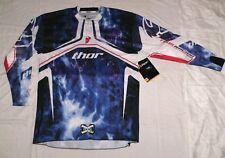 THOR CORE FLUX Smoke Cross Enduro Quad Jersey Trikot Yamaha YZ-F DH YZ UFO NEU L