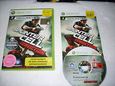 GIOCO XBOX 360 SPLINTERCELL CONVICTION - XBOX360
