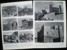 BERBER PEOPLE ATLAS MOUNTAINS MOROCCO ETC NORTH AFRICA 3pp PHOTO ARTICLE 1956