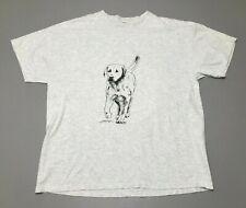 Vintage 90s 1991 Labrador Retriever Lab Dog Coming & Going T-Shirt Adult Size Xl