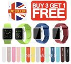 FOR APPLE WATCH STRAP SPORT SILICONE BAND iWATCH SERIES 6 SE 5 4 3 38 40 42 44mm <br/> 🔥 TRUSTED UK SELLER 🔥 SATISFACTION GAURANTEED 🔥