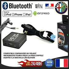 Boitier Bluetooth Streaming A2DP + Micro pour ALFA ROMEO 147 156 159 Giulietta