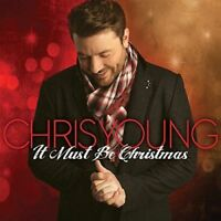 New: CHRIS YOUNG - It Must Be Christmas (Limited Autographed) CD