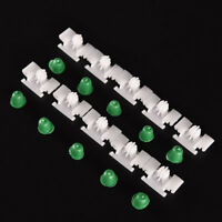 10x Exterior Door Side Fender Body Fastener Moulding Trim Clips For BMW E46 E36