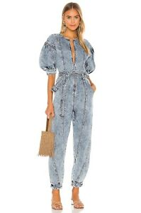 Ulla Johnson Sabra denim Jumpsuit Size 2 4 Msrp 575usd