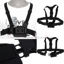 Verstellbare Brust Body Harness Belt Strap für Go Pro GoPro HD Hero 1 2 4 3+ Plus