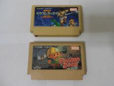 NES /  Famicom 2 Nintendo Games lot 2 Boulder Dash + Herakles no Eikou