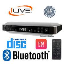 iLive Wireless Bluetooth Under Cabinet Kitchen Music System FM CD Aux IKBC384S