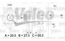 VALEO Alternador 90A Para RENAULT CLIO 436256