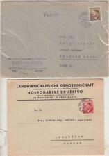 Echte Briefmarken aus Böhmen & Mähren (bis 1945) mit Einzelfrankatur
