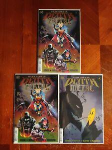 DC Comics Dark Nights Death Metal #1 4 Comic Book Lot