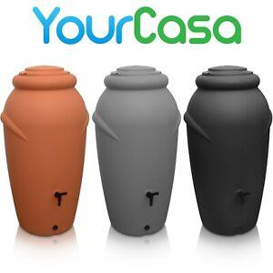 YourCasa Regentonne 210 Liter [Amphore Design] Regenfass Frostsicher