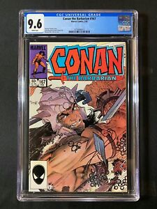 Conan the Barbarian #167 CGC 9.6 (1985)