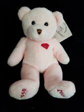 Limited Edition Mary Meyer Barbie Doll 40th Anniversary Ruby Bear Plush! Rare!