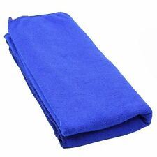 Durable Fast Drying Microfiber Bath Towel Travel Gym Camping Sport Dark blue