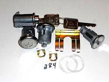 Chevrolet GMC pick up  suburban truck ignition door glove box lock set 284