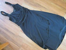 JACQUI-E SIZE 12, STRETCH BLACK DRESS