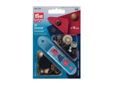 Bottoni a pressioni automatici Prym Anorak color bronzo diametro da 15 mm