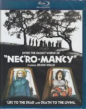 NECROMANCY horror *CODE RED BLU-RAY NEW*  Orson Welles  *RARE* Pamela Franklin