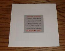 Original 1990 Porsche Full Line Foldout Sales Brochure 90 928 911 944 S2