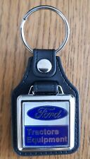 FORD TRACTOR EQUIPMENT LEATHER KEYRING
