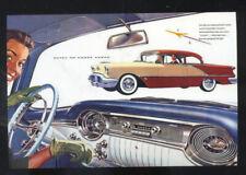1956 OLDSMOBILE CAR DEALER ADVERTISING POSTCARD COPY '56 OLDS