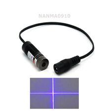 1pc14.5 * 45m Focusable Laser Diode Module 405nm 50mW Cross Violet/Blue Light