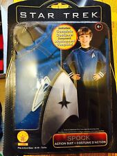 Rubie's Star Trek Blue Fancy Dress Shirt Kids (Large) 7 - 8 Years