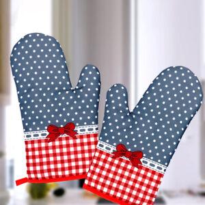 Ofenhandschuhe Backhandschuhe Topfhandschuhe Küchenhandschuhe Wellenpunkt Grill