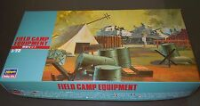 Hasegawa FIELD CAMP EQUIPMENT 1:72 MT32:500