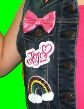 JoJo Siwa iron on patch Only. Embroidered applique patch, logo