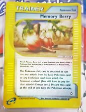 Pokemon Cards - Memory Berry REVERSE HOLO #128/147 [Aquapolis] [NM+]