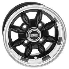 Classic Mini Rueda Ultralite - 10 X 6J-ET-3 - Negro Brillante + Borde Pulido