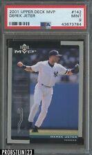 2001 Upper Deck MVP Derek Jeter New York Yankees PSA 9 MINT