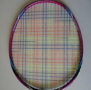 2 Packs Li Ning AP64 Rainbow Badminton String 10m, Repusion Power, Many Colours