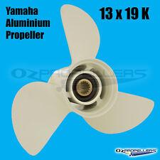 13 x 19 k Yamaha PROP PROPELLER NEW Aluminium Suits 50-140HP Outboards