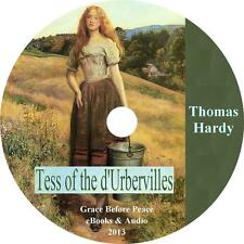 Tess of the d'Urbervilles, Thomas Hardy Audiobook English Fiction on 1 MP3 CD
