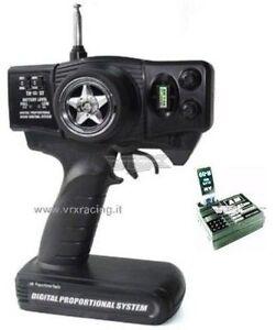 H0024 RADIO VOLANTINO AM CON TRIM  COMPLETO DI RICEVENTE INCLUSI QUARZI VRX