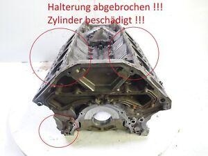 Motorblock Tischdeko Defekt für BMW X5 X5M E70 X6  E71 4,4 50 i N63B44A 7562286