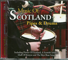 MUSIC OF SCOTLAND PIPES & DRUMS Inc FLOWER OF SCOTLAND, A SCOTTISH SOLDIER &MORE
