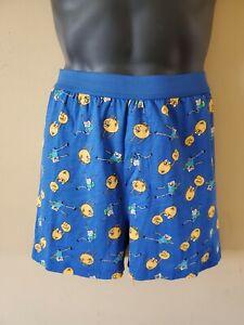 Adventure time dark blue men's boxers