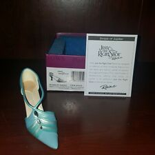 "Just the Right Shoe, Raine, ""Drops of Jupiter"" mixed media miniature # 25433"