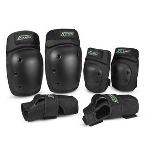 Everwell Protective Knee Pads Set, Protective Gear Set with Knee Elbow Wrist Pad